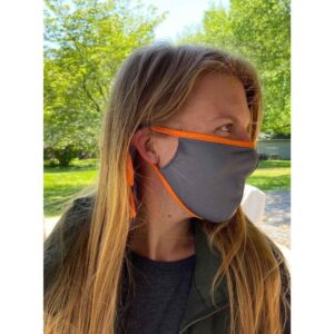 Light Gray/Orange - Masks